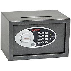 Phoenix Einwurftresor SS0801ED Grau 310 x 200 x 200 mm
