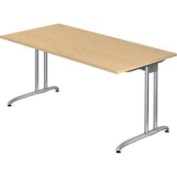 Hammerbacher Schreibtisch VBS16/3 Ahorn 1.600 x 800 x 720 mm