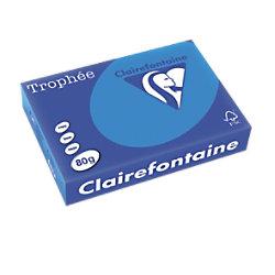 Trophée Clairefontaine Farbiges Kopier-/ Druckerpapier DIN A4 80 g/m² Türkis 500 Blatt 1781