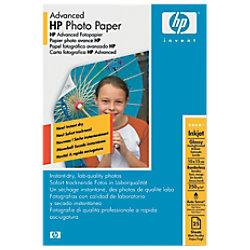 HP Glossy Fotopapier HPQ8691A 100 x 150 mm 250 g/m² Weiß 25 Blatt