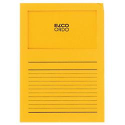 Elco Organisationsmappen DIN A4 Gelb 120 g/m² Papier 100 Stück 29489.42
