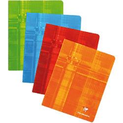 Clairefontaine Notizbuch 4635009 165 x 210 mm Liniert Rot 60 Blatt 393C