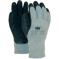 M-Safe Handschuhe Coldgrip Latex Größe L Schwarz, Grau 2 Stück 14718009