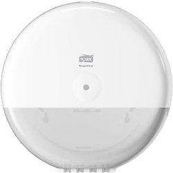 Tork SmartOne® Spender für Toilettenpapier Weiß T8, Hohe Kapazität, Elevation Linie, 680000