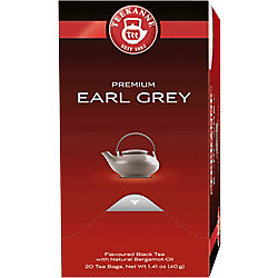 TEEKANNE Earl Grey Schwarzer Tee 20 Stück à 1.75 g 6245