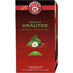 TEEKANNE Feinste Kräuter Kräuter Tee 20 Stück à 2 g 6252