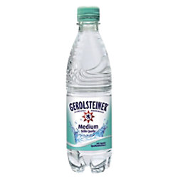 Gerolsteiner Mineralwasser Medium Stille Quelle 500 ml EINWEG 100052