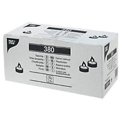 PAPSTAR Teelichter Weiß 380 Stück 13804