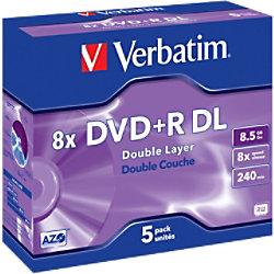 Verbatim DVD+R DL 8.5 GB 5 Stück 43541