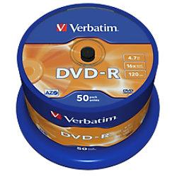 Verbatim DVD-R 4.7 GB 50 Stück 43448