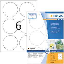 HERMA Wiederablösbare Etiketten 4478 Ø13 mm 100 Blatt à 6 Etiketten