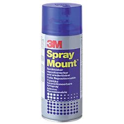 3M Scotch Sprühkleber Spray Mount Weiß 400 ml 7243