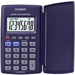 Casio HL-820VER Taschenrechner 12-stelliger LCD-Monitor Blau
