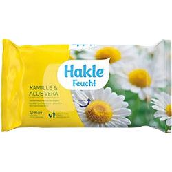 Hakle Feuchtes Toilettenpapier Kamille & Aloe Vera 1-lagig 42 Blatt 80030