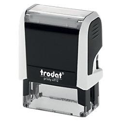 Trodat Personalisierter Adressstempel Printy 4912G Schwarz, Weiß 4,7 x 1,8 cm 43170GS