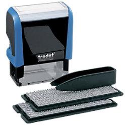 Trodat Personalisierter Adressstempel Printy 4912 Typo 4,7 x 1,8 cm 43145