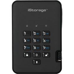 iStorage 500 GB Tragbare Verschlüsselte Festplatte diskAshur 2 USB 3.0 Phantom Schwarz IS-DA2-256-500-B