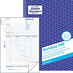 Avery Auftragsbuch Bestellung 1406 DIN A5