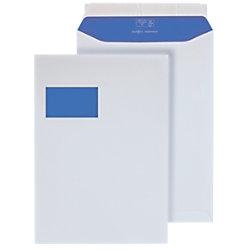 Hermes Versandtaschen C4 100 g/m² Weiß Mit Fenster Abziehstreifen 250 Stück