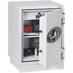 Phoenix Feuerschutztresor FS0441E Weiß 500 x 500 x 640 mm