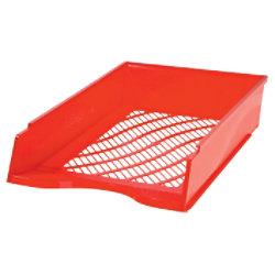 Bene Briefkorb Polystyrol Rot 25,6 x 35 x 7 cm 105975