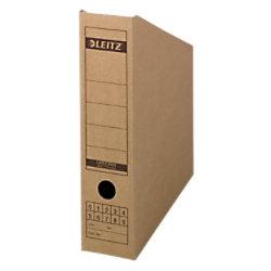 Leitz Archivschachtel 6083 Natronpapier DIN A4 Braun Wellpappe 8 x 26,5 x 32 cm 60830000