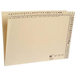 MAPPEI Ordnungsmappen 104013N DIN A4 Chamois 100 Stück