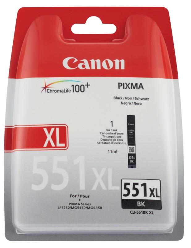 Canon CLI-551BK XL Noir