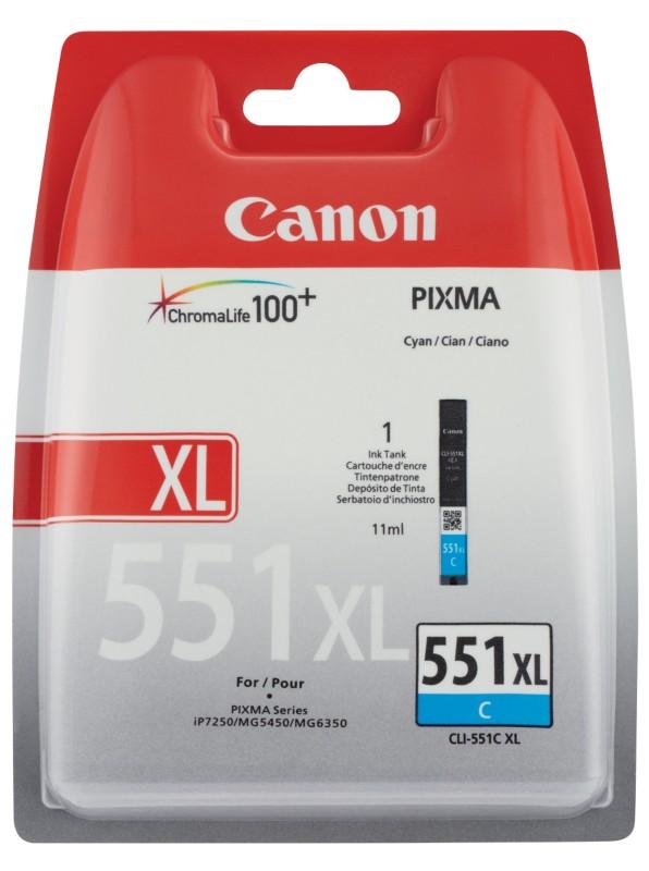 Canon CLI-551CXL Cyan