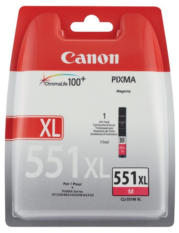 Canon CLI-551MXL Magenta
