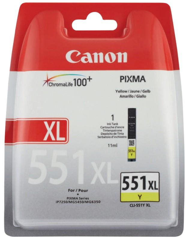 Canon CLI-551YXL Jaune