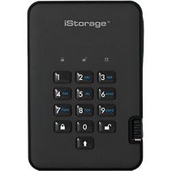 iStorage 1 TB Tragbare Verschlüsselte Festplatte diskAshur 2 USB 3.1 Phantom Schwarz IS-DA2-256-1000-B