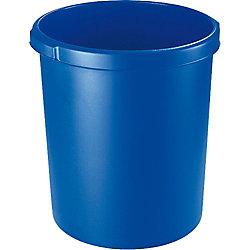 Han Papierkorb/1834-14 blau, rund, 30 Liter
