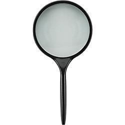 ECOBRA Lupe Vision 75 mm Vergrößerung 2 x Schwarz 810075