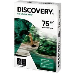 Discovery Eco-efficient Umweltfreundliches Kopier-/ Druckerpapier DIN A3 75 g/m² Weiß 500 Blatt NDI0750239