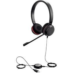 Jabra Evolve 30 II UC Stereo Kabelgebundenes Headset Schwarz 5399-829-309