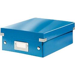 Leitz Click & Store WOW Klein Organisationsbox Laminierte Hartpappe Blau 22 x 28,2 x 10 cm 60570036