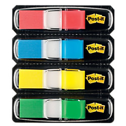 Post-it Index Mini-Haftstreifen 683-4 683-4 Farbig sortiert 4 Stück à 35 Streifen