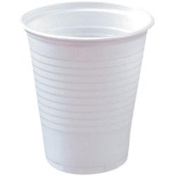 PAPSTAR Kunststoffbecher 16116 150 ml Weiß 100 Stück