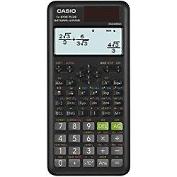 Casio Wissenschaftlicher Taschenrechner FX-87DE Schwarz FX-87DE PLUS-2