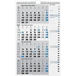 BRUNNEN 4-Monats-Wandplaner Kombi Planer Spezial 2020