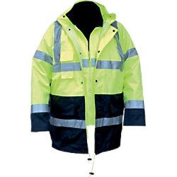 M-Wear Parka 4-in-1 0980 L Oxford-Nylon L Gelb 26098005