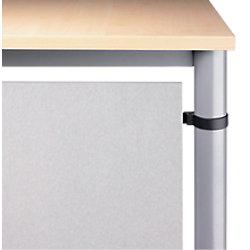 Hammerbacher Rückwandverkleidung VHR90/S Silber 1.030 x 19 x 400 mm