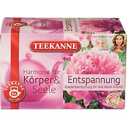 TEEKANNE Entspannung Kräuter Tee 20 Stück à 2 g 6735
