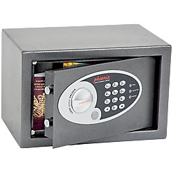 Phoenix Einbruchschutztresor SS0801E Graphit, Metallic 310 x 200 x 200 mm
