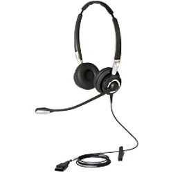 Jabra BIZ 2400 II Duo QD Kabelgebundenes Headset Schwarz 2409-820-204