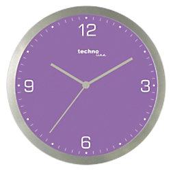 TechnoLine Wanduhr WT9000 30 x 3,3 cm Violett WT9000VIOLETT