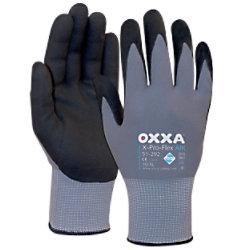 Oxxa Handschuhe X-Pro-Flex Air Polyurethan Größe M Schwarz, Grau 2 Stück 15129208