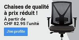 Chaises de qualité à prix réduit