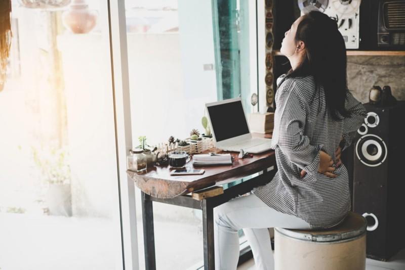 Ein ergonomischer Arbeitsplatz ist sinnvoll